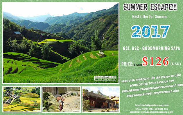 Best Offer for Summer 2017 with Sapa 2 Days 1 Night by bus and stay in hotel tour